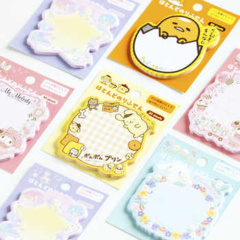 30packs/lot kawii cartoon Japanese adhesive memo sticky bookmark notepad cute memo pad for school and office suppliers wholesale - DISCOUNT ITEM  32% OFF All Category