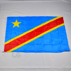 Hot Seller Dr Congo Democratic Republic Of The Congo Flag Banner Free Shipping 3x5 Foot 90*150cm Hanging National Flag Home Decoration Flag — iroyaaetetn