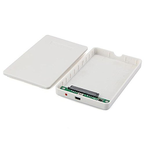 USB 3.0 2.5 Sata HDD Hard Disk Drive External Enclosure Case Box White Portable 2 5 sata external hard drive 250g hdd enclosure usb 3 0 shock resistant silicone case hard disk u23sf