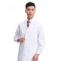 Uniforme médico friega mujeres blanco uniformes uniformes médicos clínica hospital uniforme médico bata de laboratorio ropa de trabajo y uniformes en forma
