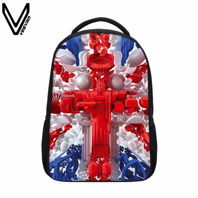 VEEVANV 2019 New Women s British Style UK Flag Backpacks Casual American  Flag Printing Shoulder Bag German 79d83d3c17e0b