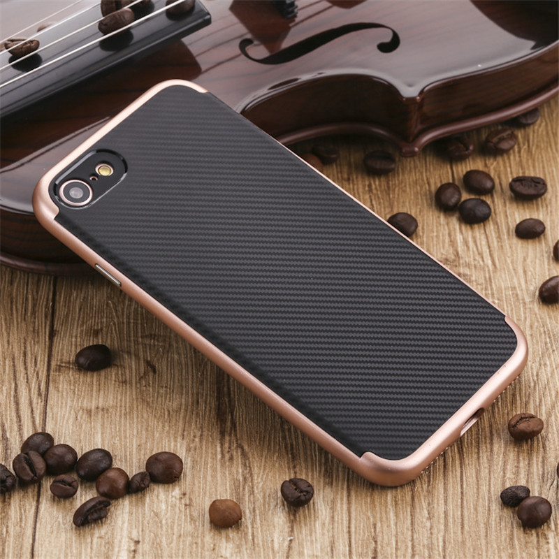 For iPhone 7 Silicone Case Luxury Ultra-Thin Neo Hybrid Back Cover Case for iPhone 7 Plus Dual Layer Hybrid Armor Phone Cases