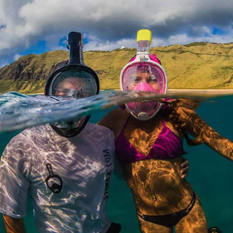 Swimming Snorkeling Mask Underwater for Diving Full Face Snorkel Anti Fog Anti-Leak Beach Sea Swim Pool Accessories Adult Child (13)