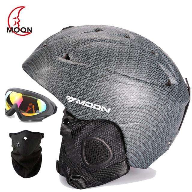Бренд мужской/женский/детский горнолыжный шлем/очки/маска подарки шлем для сноуборда Satety мото велосипед альпинистская маска роликовый скейтборд спорт
