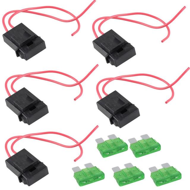 5 gauge gauge atc waterproof power fuse socket online 30a 22awg house fuse box wiring 5 gauge gauge atc waterproof power fuse socket online 30a 22awg wire copper 12v power