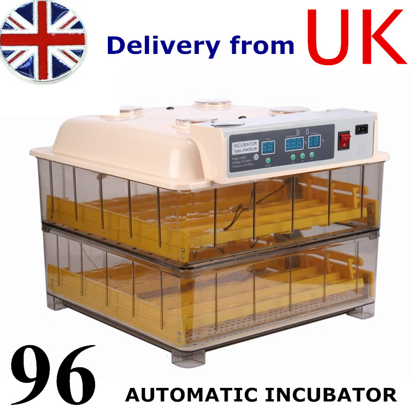 96 Digital Egg Incubator For Hatching Poultry Eggs Full-Automatic Chicken Incubators for Sale  цены