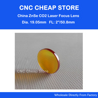 Free Shipping Znse Diameter 19 05mm Co2 Optical Lens Focusing Mirror For Laser Engraver Cutting Machine