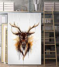 Абстрактная Настенная картина с изображением диких животных