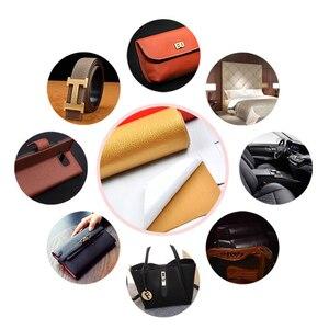 Image 2 - 50x135 см Кожаный пластырь большого размера самоклеющиеся ручки без глажки диван ремонт кожа, ПУ, ткань наклейки пластыри скрапбук
