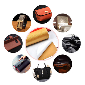 Image 2 - 50x135cm Large size leather patch Self Adhesive Stick on No Ironing Sofa Repairing Leather PU Fabric Stickers Patches Scrapbook