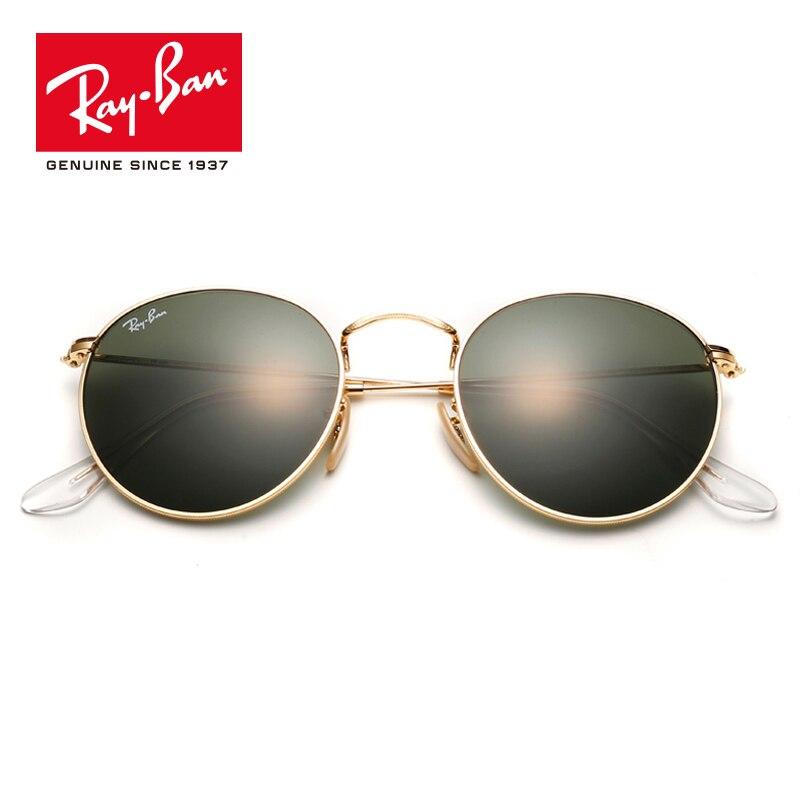 Rayban 2018 Retro Rotondo Specchio Lente di Protezione UV Occhiali Accessori Occhiali Da Sole lassic prescrizione