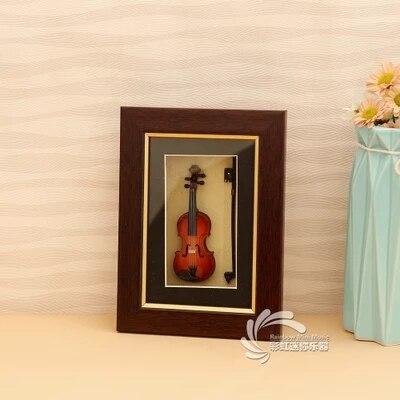Mini guitare, cadre photo modèle violon, cadre photo en verre, cadeaux pour les enseignants