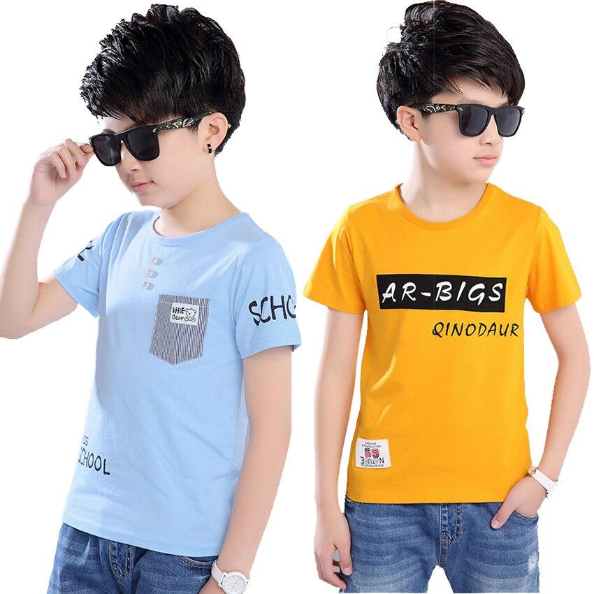 Summer 2018 Baby Boy T Shirt for Children Cotton Tshirt T-shirt Kids Clothes Tops Tee 3 4 5 6 7 8 9 10 11 12 13 14 15 16 Year женская футболка other t tshirt 2015 blusas femininas women tops 1