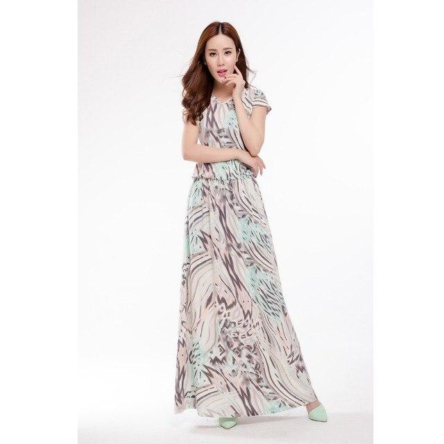 Summer Dress 2018 Hot Sale Maxi Dresses For Women Sexy Long Dress European  Print Floral V fb19058b8