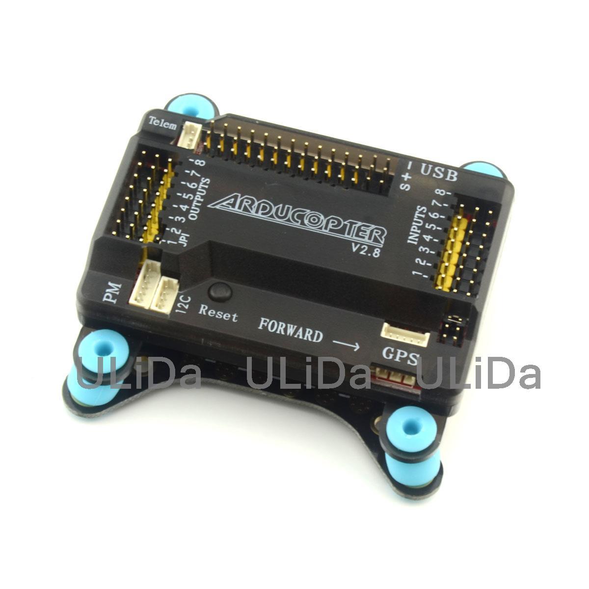 APM2.8 contrôleur de vol 5 in1 PDB amortisseur intégré Module d'alimentation ESC carte de Distribution d'énergie 5V 12V BEC LED quadrirotor - 2