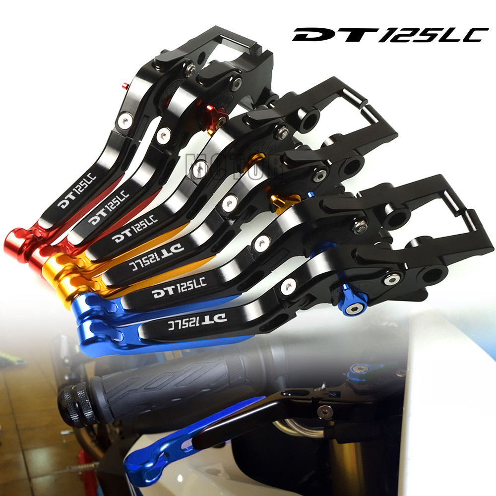 For Yamaha DT125LC MK2 MK3 1985 1989 1986 1987 Motorcycle CNC Aluminum Brake Clutch Levers Adjustable