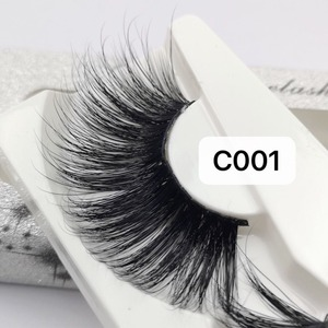 Image 5 - NEW Length 30mm Mink Eyelashes False Eyelashes Crisscross Natural Fake lashes Makeup 3D Mink Lashes Extension Eyelash Beauty