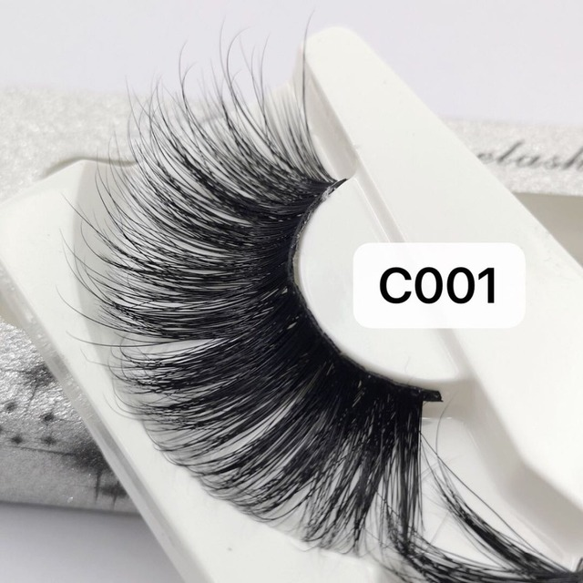 NEW Length 30mm Mink Eyelashes False Eyelashes Crisscross Natural Fake lashes Makeup 3D Mink Lashes Extension Eyelash Beauty 4