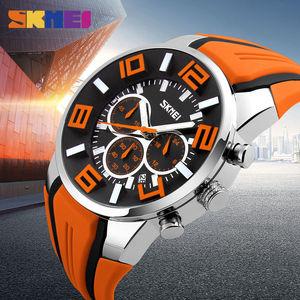 Image 5 - Skmei relógio masculino, novo top da moda de luxo, relógios para homens, casual, relógio de pulso de quartzo, relógio masculino à prova dágua, 2019 horas