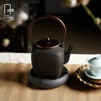 Nowy 1.49L Handmade Japoński Żeliwny Czajniczek Drinkware Niepowlekanych Kung Fu Dzbanek Do Herbaty Oolong herbata Pu 'er Żółw-cienkie Pęknięcia Sakura Czajnik