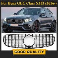 Для x253 AMG GT решетка Передняя для Mercedes 2016 + класса GLC GLC200 GLC250 GLC300 Спорт glC450 GLC63 гриль