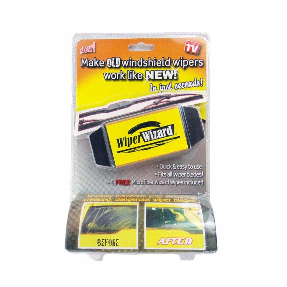 Auto Tergicristallo spazzola di pulizia Car Van Wizard Parabrezza Blade Restauratore Cleaner accessori per la pulizia