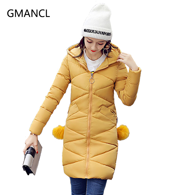 2017 New Fashion spring jacket women winter coat women warm outwear Loose Thick Padded cotton Jacket coat Womens Clothing M016