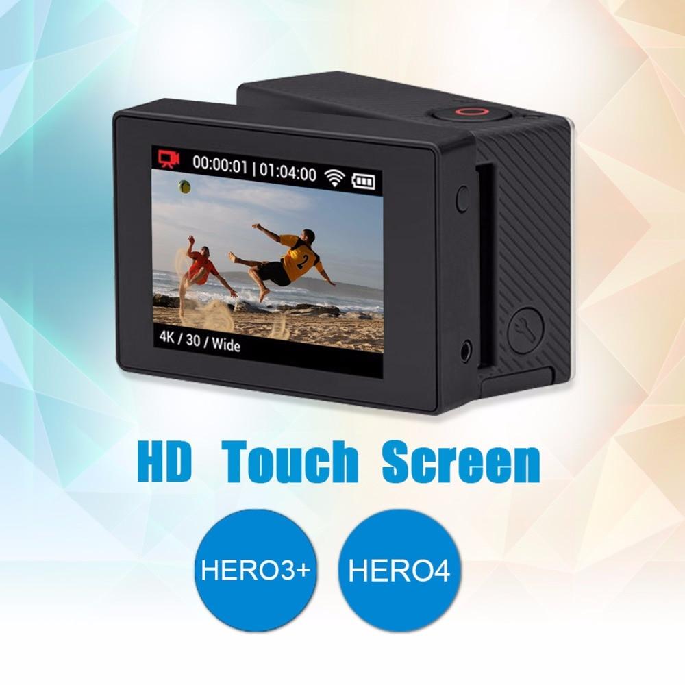 SHOOT XTGP328 nouvel adaptateur d'écran GoPro + cadre standard GoPro + écran LCD Non Touchable pour version GoPro 3 +/4 3 en 1