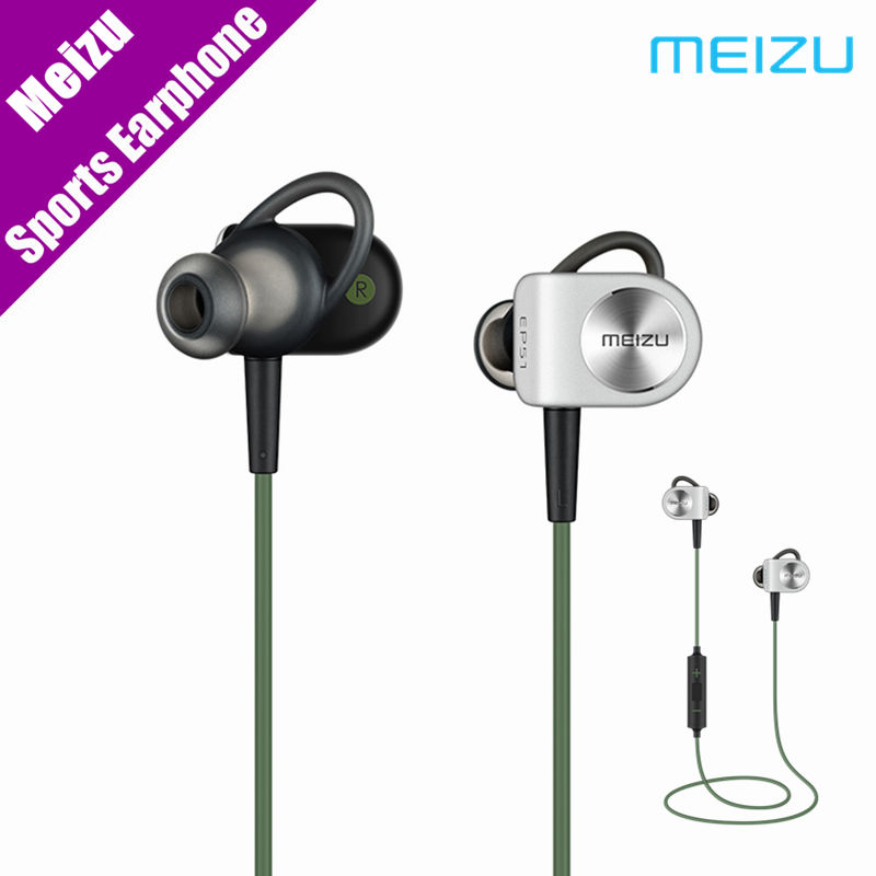 Original Meizu EP51 Wireless Earphone Bluetooth Sports Stereo Earphone Waterproof Noise Cancelling Headset With MIC Earbuds