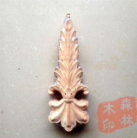 Wood Dongyang Wood Carving Fashion Applique Gate Flower Wood Shavings Furniture Flower Bed Home Decoration 37