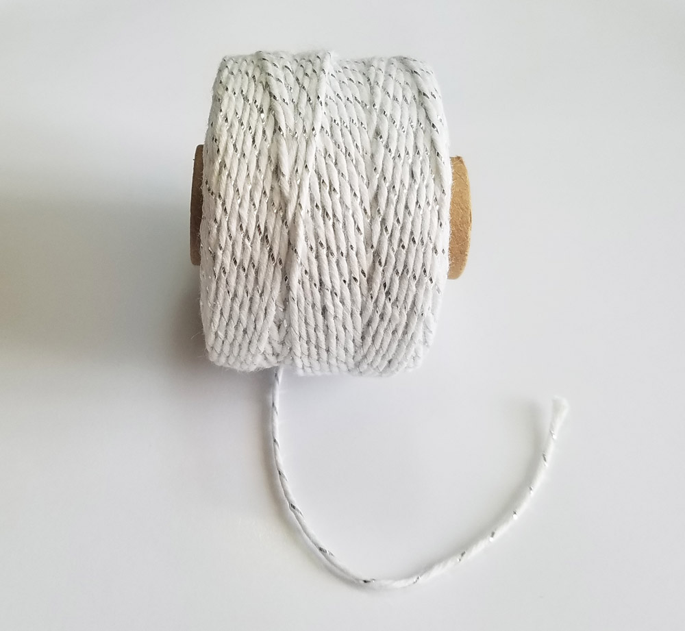 Uncategorized Macrame Twine 100 cotton 100mroll twine cords macrame rope string thread for party gift pack wedding decoration accessory diy in from home