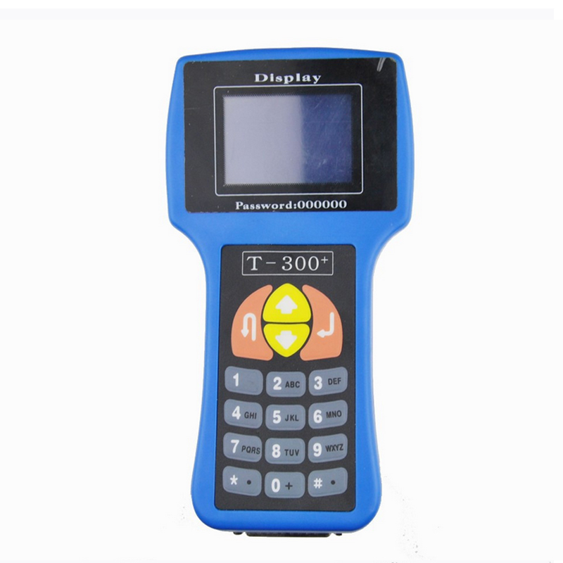 High quality T code 7.2 T300 Auto Key Programmer T300 V16.8 Car Key Transponder T 300 English&Spanish Optional DHL Free