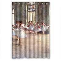 Ballet Dancer High Quality Waterproof Bathroom Shower Curtain 48 Quot W Quot H