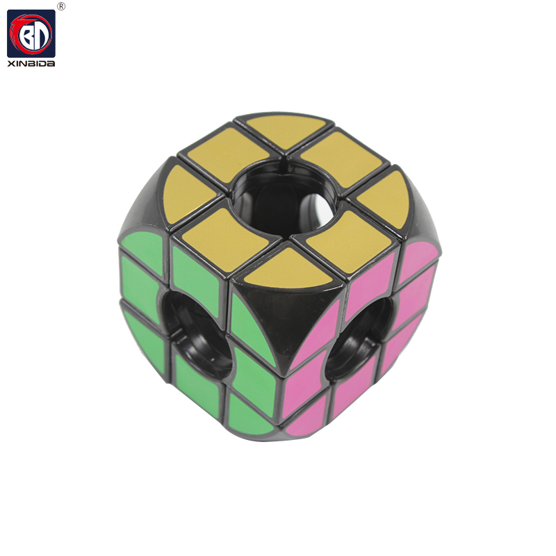 BD, magic cube, Funny Fidget Cube, Hand Spin Anti-stress Toy, Children Toys Educational, Puzzle Speed Challenge Gifts3*3*3 19