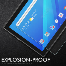 9H Tempered Glass For Lenovo Tab 4 10 Plus 8 Tab3 7 710F 2 A10-70 Tablet Screen Protector Protective Film