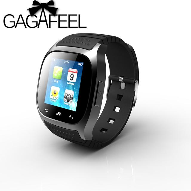 Esporte bluetooth smart watch para homens mulheres digital pedômetro sms lembrar para android samsung telefone