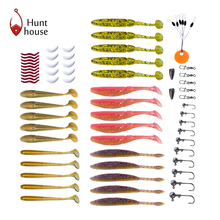 2017 Modelh6003 New Almighty Fishing Lure Kit Complete Set With Hard Lures Soft Bait Accessories 166pcs