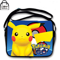 [NEWTALL] Pokemon Pikachu Pocket Monster Anime Canvas Single Shoulder Cross Body Bag Satchel Messenger Bag A1057