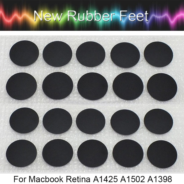 40pcs Genuine NEW Laptop Rubber Bottom Case Cover Feet Foot Kit for Macbook Pro Retina A1502 A1398 A1425 13