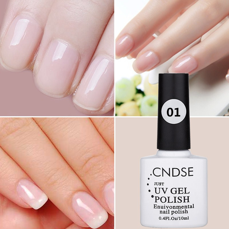 Cndse 10ml Uv Led Gel Nail Polish Women Natural Color Series Protect The Nails Breathable Water Embellish In From Beauty