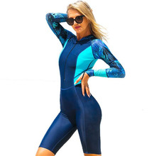 SBART Long Sleeved Lycra Diving Suit Women Wetsuit One Piece Bodysuit Swimsuit Snorkeling Wetsuits Rash Guards sbart women surfing diving rash guards clothing swimming snorkeling wetsuit water sport upf50 tight t shirts tops swimsuit