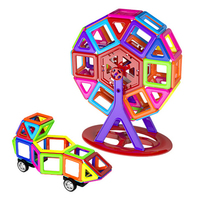 F17334 56Pcs Set Magnetic Building Blocks Bricks Toys Models Building Toy Learning Education Toys Plastic Toys