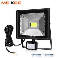 30W LED Flood Light With Motion Sensor Waterproof IP66 LED Outdoor Spotlight 3000lm Super Bright Halogen Floodlights