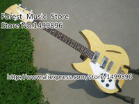 Left Handed China Suneye Rick 340 Guitar With Semi Hollow Guitarra Body From Music Instrument Factory In Stock