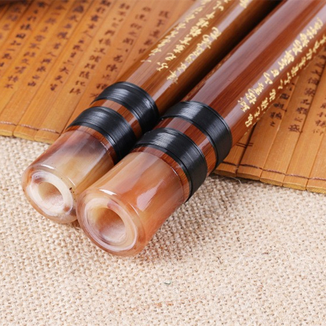 High Quality Bamboo Flute Professional Woodwind Flutes Musical instruments C D E F G Key