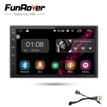 Funrover Android8.0 2 Din 7 Inch Qashqai X-trail Car dvd Radio player bluetooth gps navigation radio video wifi RDS Bluetooth FM