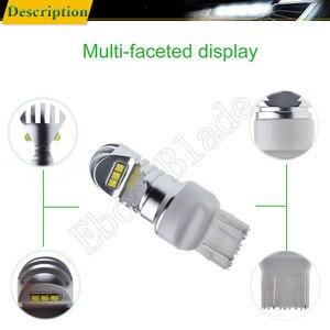 Image 4 - 1 X T20 7440 W21W WY21W 7443 W21/5 W XBD Chip 30W LED Front Tail Richtingaanwijzer brake Reverse Drl Lamp Wit Amber ROOD 12v 24v