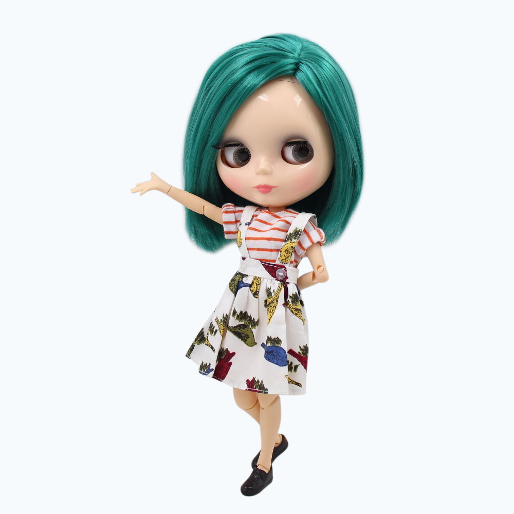 factory blyth doll X men The Gifted Polaris Marvel BL1206 JOINT body Green hair natural skin