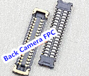 20pcs/lot for iPhone 6S 4.7 J3200 Back Camera FPC Connector On Mainboard Motherboard image