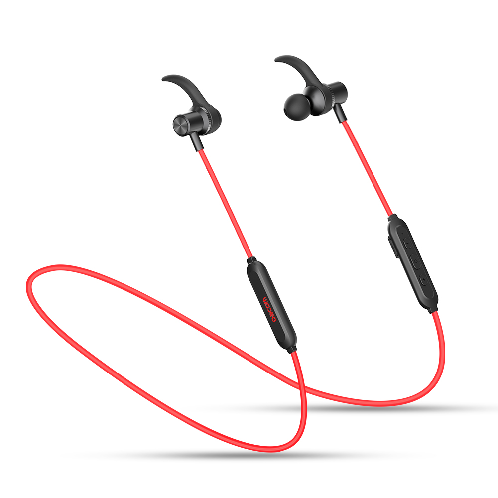 DACOM V5.0 Sports Headphone Wireless Stereo Earphone Bluetooth Headphones with Microphone Magnetic Headset for iPhone Samsung universal wireless bluetooth 4 0 edr headset headphone with noise cancellation handsfree stereo a2dp earphone for iphone samsung